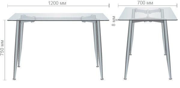 Стол обеденный Tilia